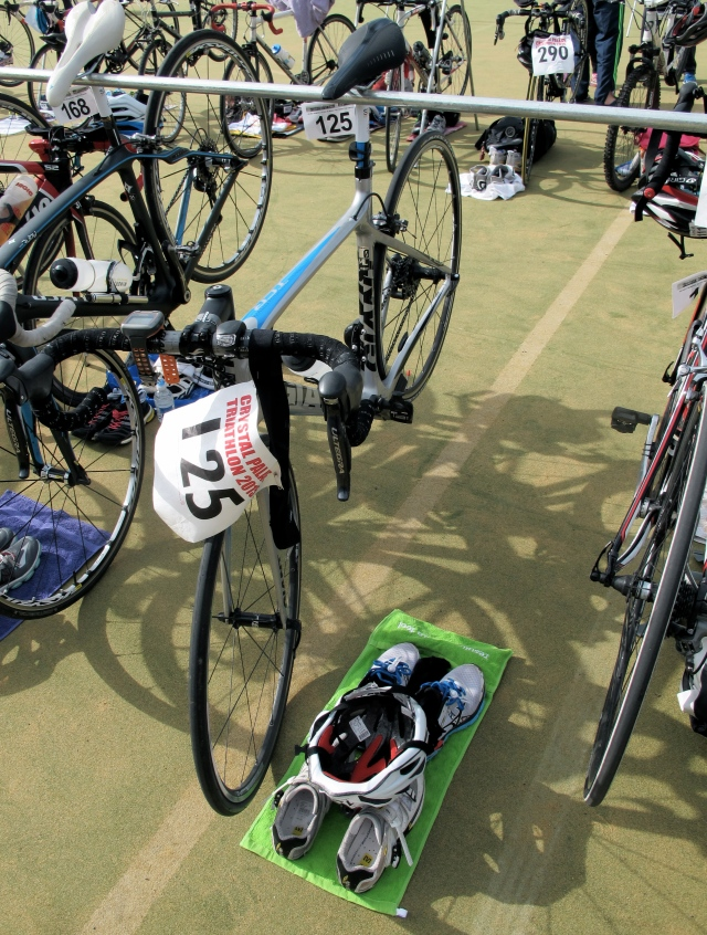 Transition-Triathlon